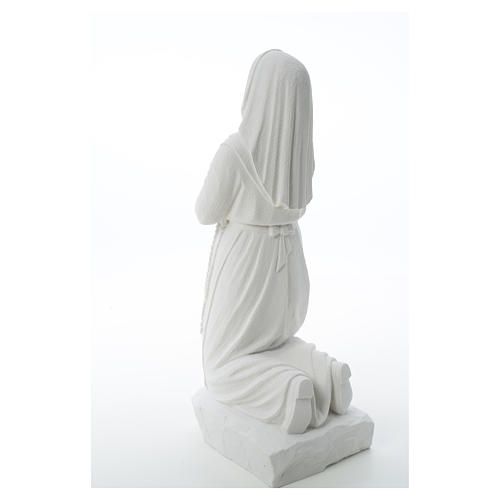 Saint Bernadette, 50 cm statue in reconstituted carrara marble 8