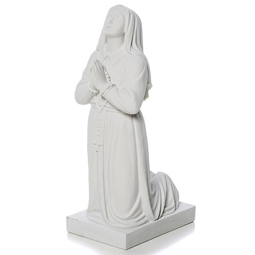 Saint Bernadette, 35 cm statue made of reconstituted marble 3
