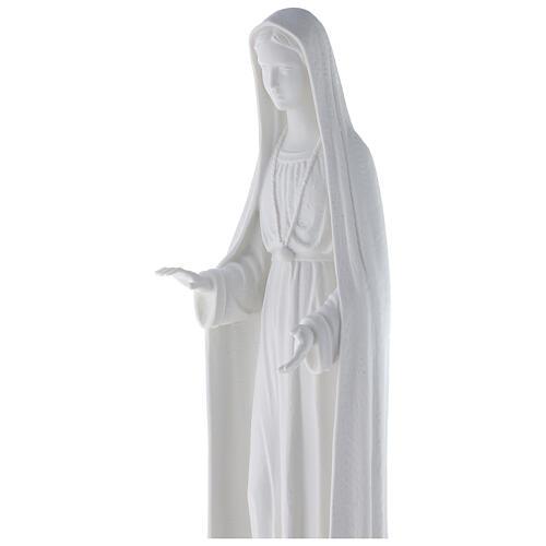 Statua Madonna stilizzata marmo bianco 62-100 cm 2