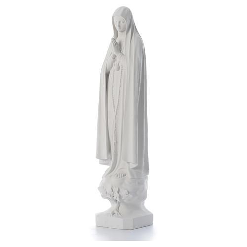 Statue Notre Dame de Fatima avec arbre 100 cm 2