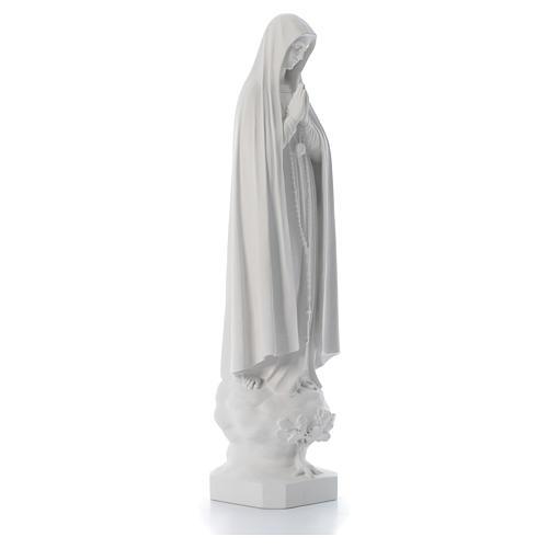 Statue Notre Dame de Fatima avec arbre 100 cm 3
