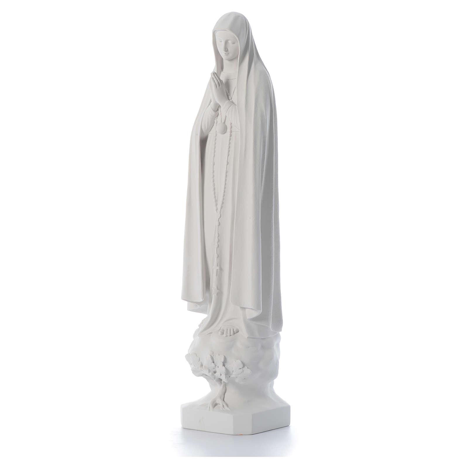 Statua Madonna Fatima con albero 100 cm 4