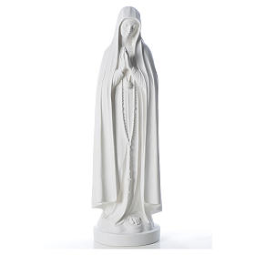 Statue Notre Dame de Fatima marbre 83 cm s1