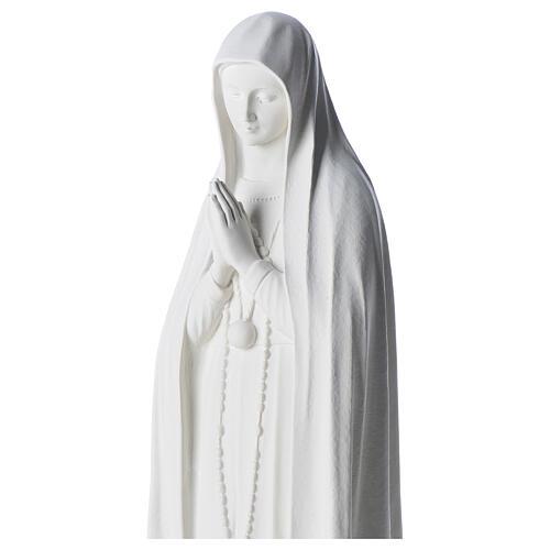 Statue Notre Dame de Fatima marbre 83 cm 2