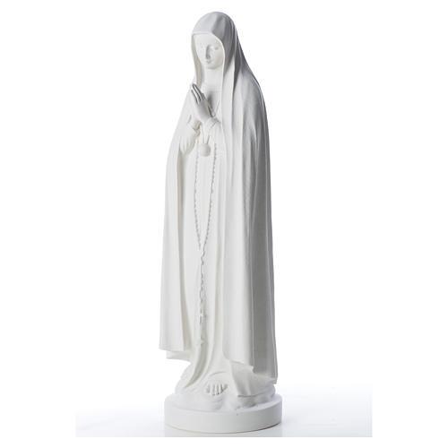 Statua Madonna di Fatima 83 cm marmo 6