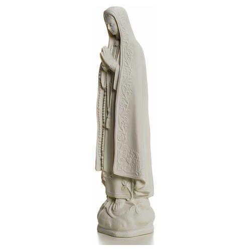 Our Lady of Fatima, 25 cm Statue in reconstituted marble 5