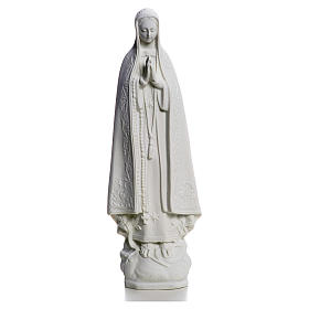Our Lady of Fatima, 25 cm Statue in reconstituted marble s1