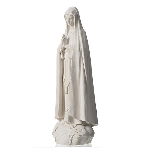 Our Lady of Fatima, 60 cm Statue in reconstituted Marble 2