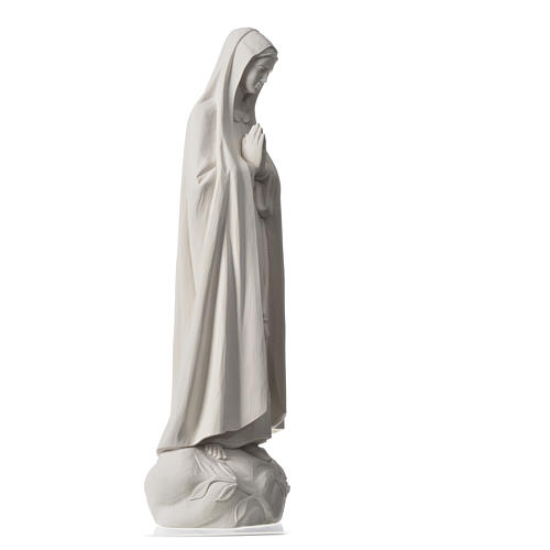 Our Lady of Fatima, 60 cm Statue in Composite Marble 7