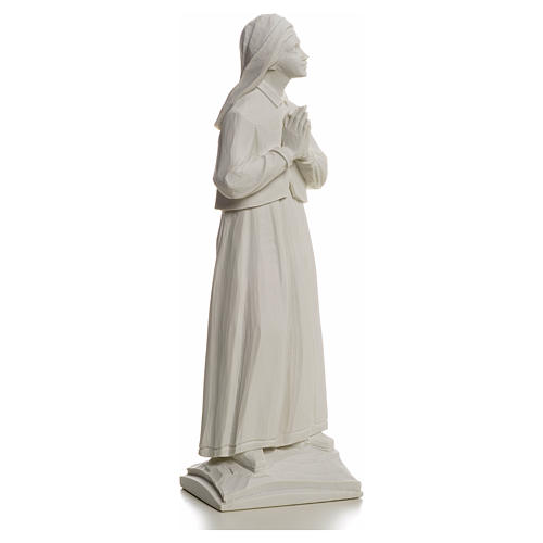 Pastora Lucia 32cm de mármol blanco 5