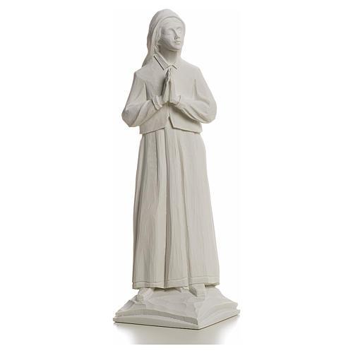 Pastora Lucia 32cm de mármol blanco 1