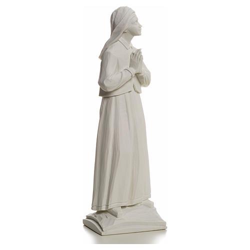 Shepherdess Lucia, 32cm composite Carrara marble statue 5