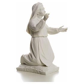 Shepherdess Jacinta, 22cm reconstituted carrara marble statue s2