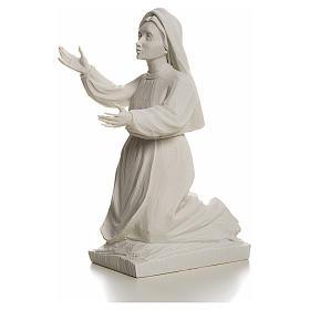 Shepherdess Jacinta, 22cm reconstituted carrara marble statue s3