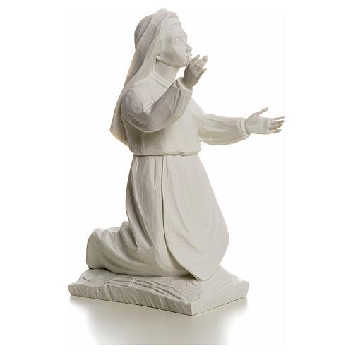 Shepherdess Jacinta, 22cm reconstituted carrara marble statue 2