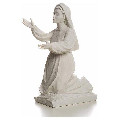 Shepherdess Jacinta, 22cm reconstituted carrara marble statue 3