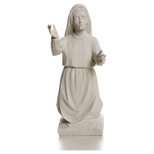 Pastora Jacinta 22cm de mármol blanco