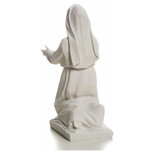 Pastorinha Jacinta 22 cm mármore branco 4