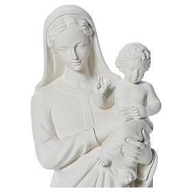 Madonna con bimbo 100 cm marmo s5