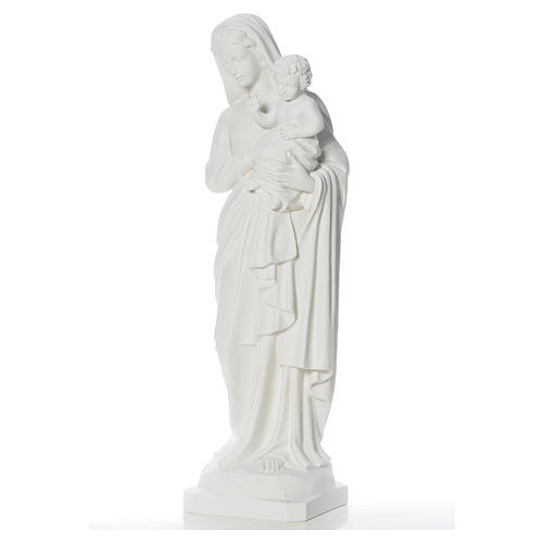 Madonna con bimbo 100 cm marmo 7
