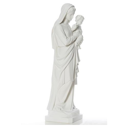 Madonna con bimbo 100 cm marmo 9