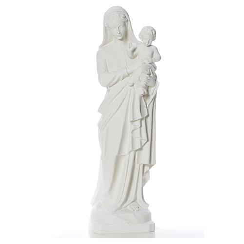Madonna con bimbo 100 cm marmo 1