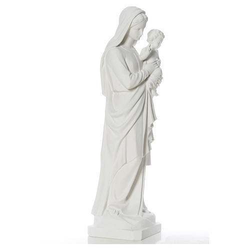 Madonna con bimbo 100 cm marmo 2