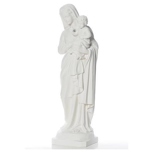 Madonna con bimbo 100 cm marmo 3
