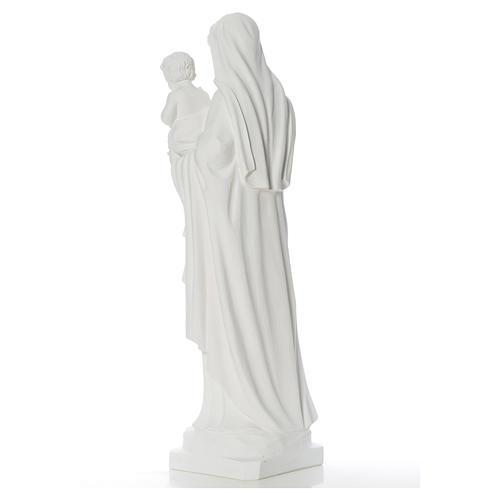 Madonna con bimbo 100 cm marmo 4