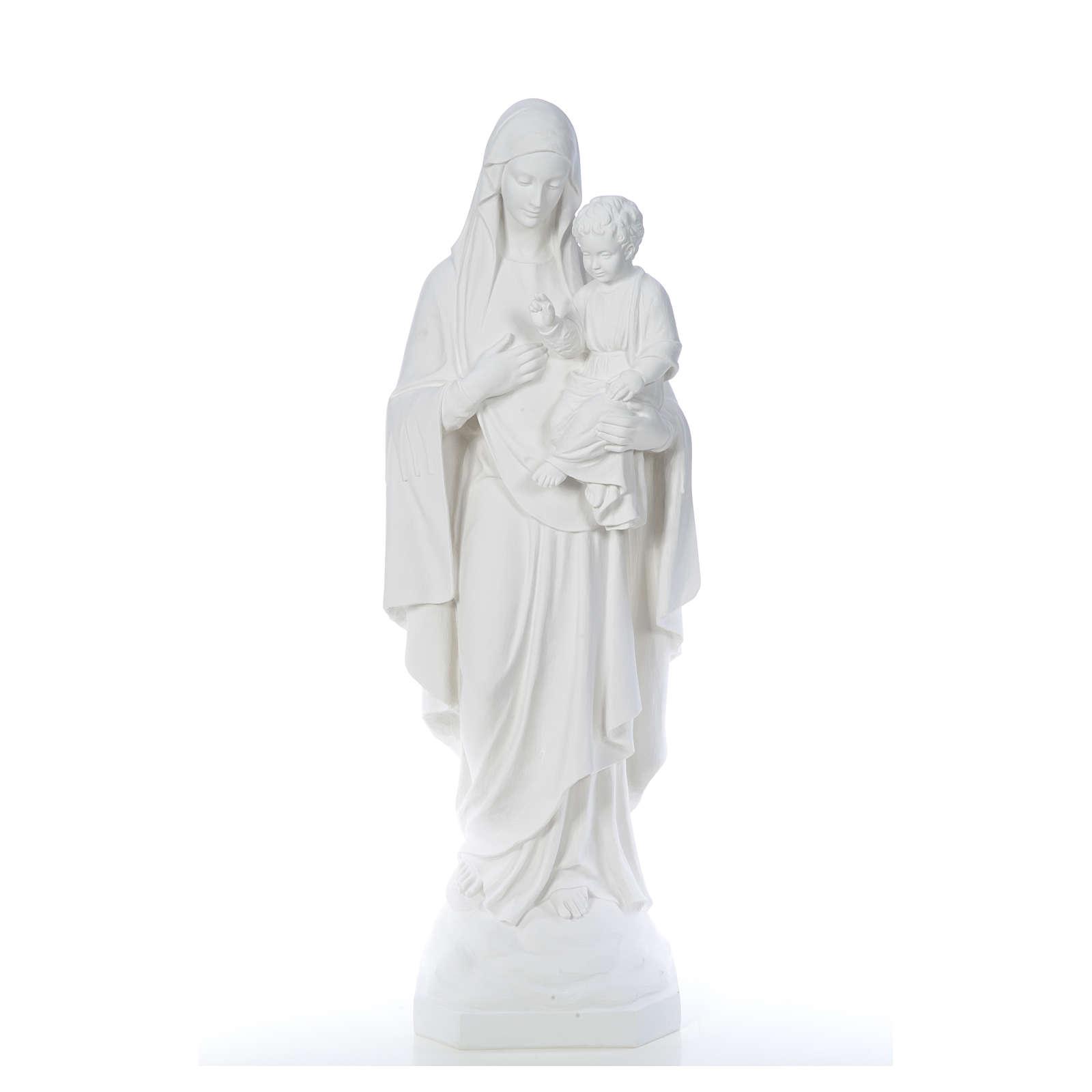 Virgen de la Consolación 130cm mármol 4