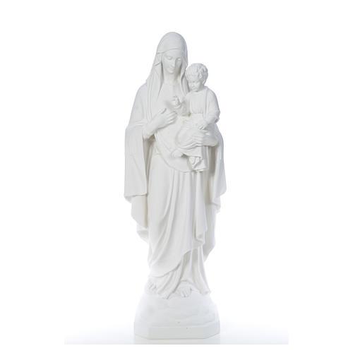 Virgen de la Consolación 130cm mármol 5