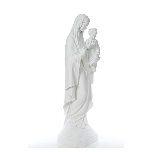 Virgen de la Consolación 130cm mármol 8