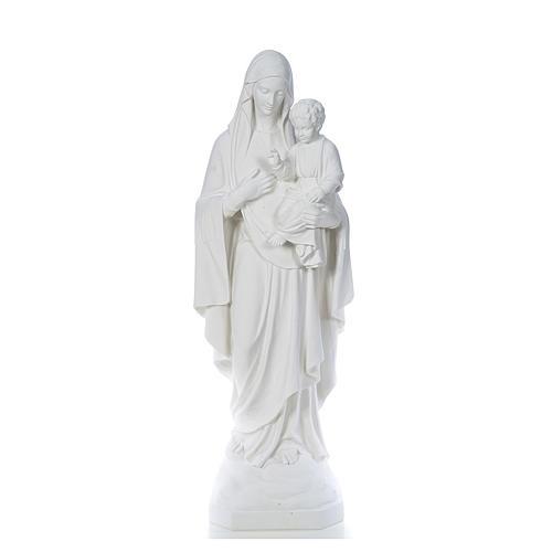 Virgen de la Consolación 130cm mármol 1
