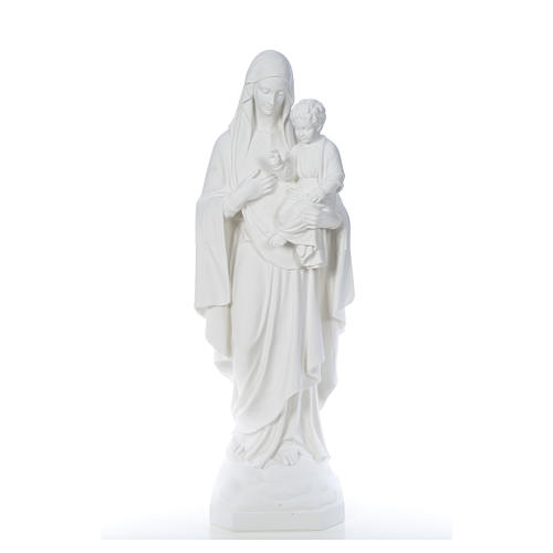 Our Lady of Consolation, 130 cm statue in reconstituted marble 5