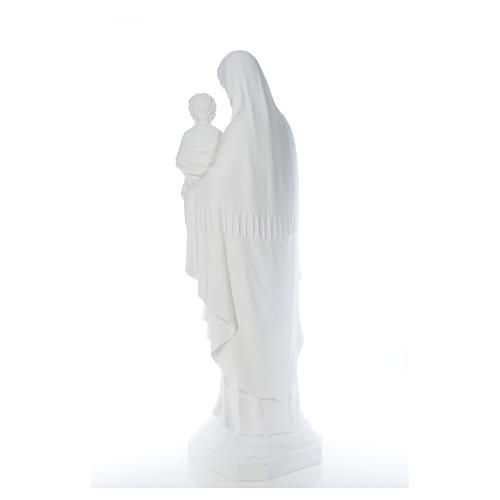 Our Lady of Consolation, 130 cm statue in reconstituted marble 7