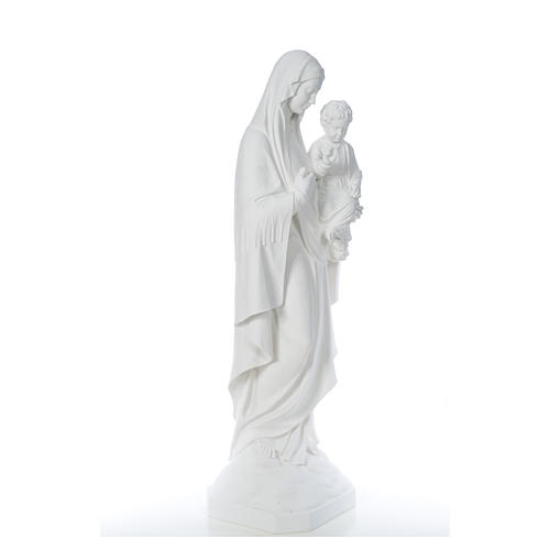 Our Lady of Consolation, 130 cm statue in reconstituted marble 8