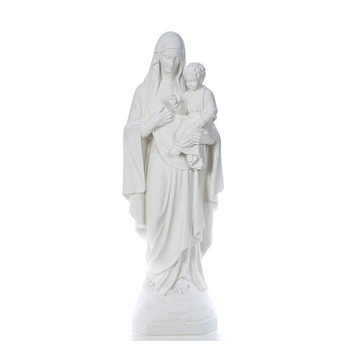 Our Lady of Consolation, 130 cm statue in reconstituted marble 1