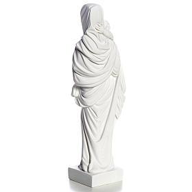 Madonna con bimbo cm 25 polvere di marmo s7