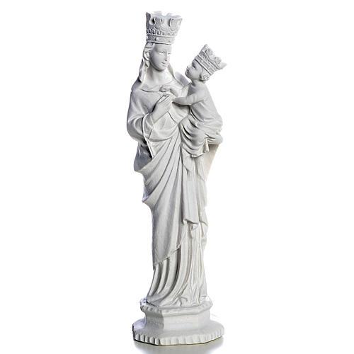 Madonna von Trapani 25 cm weisser Marmor