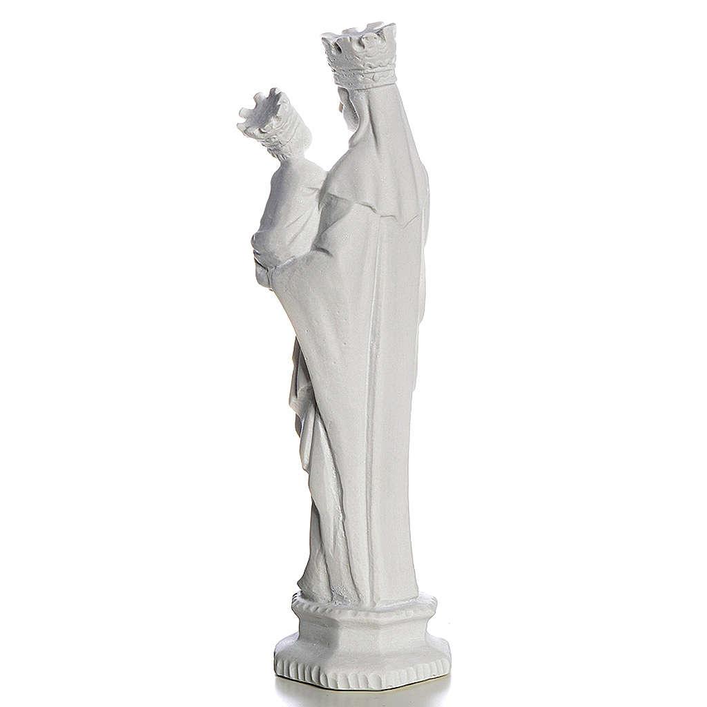 Madonna di Trapani 25 cm marmo bianco 4