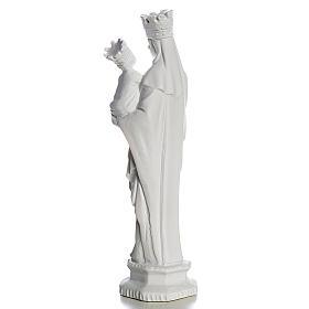 Madonna di Trapani 25 cm marmo bianco s3