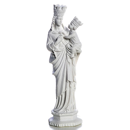 Our Lady of Trapani statue in reconstituted marble, 25 cm 1