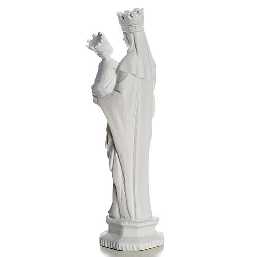 Our Lady of Trapani statue in reconstituted marble, 25 cm 3