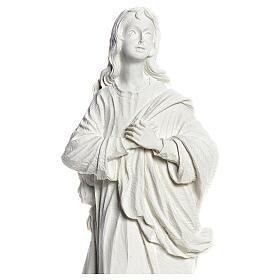 Nossa Senhora da Assunção mármore sintético branco 35-55 cm