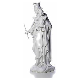 Maria Auxiliadora 80 cm mármore branco de Carrara