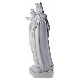 Mary Help of Christians statue in reconstituted marble 80 cm s4