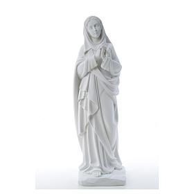 Addolorata cm 80 marmo bianco s5