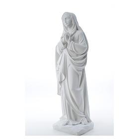 Addolorata cm 80 marmo bianco s6