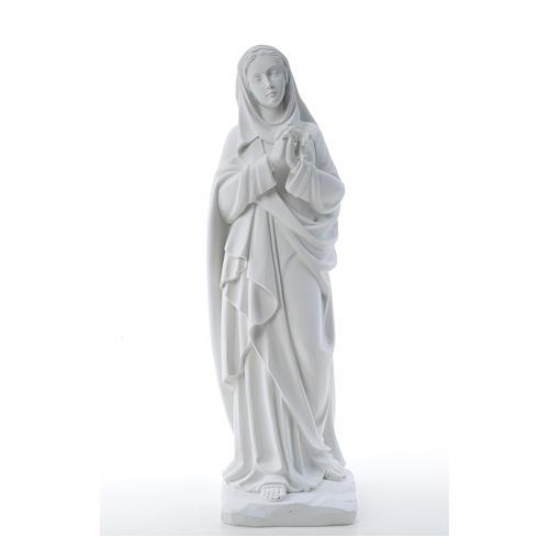 Addolorata cm 80 marmo bianco 5