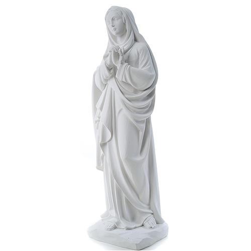 Nossa Senhora das Dores 80 cm mármore branco